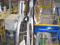 Ore Dressing & Processing Plant: grinding complex to obtain powder quartz. Homel, Belarus