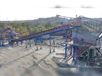 "DC-1.6 Crushing and screening plant for aggregates at ""Gumbeika:, Russian Federation"